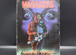 The Texas Chainsaw Massacre – Signed by Gunnar Hansen (VHS)