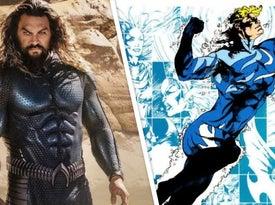 Aquaman 2's Blue Stealth Suit Explained